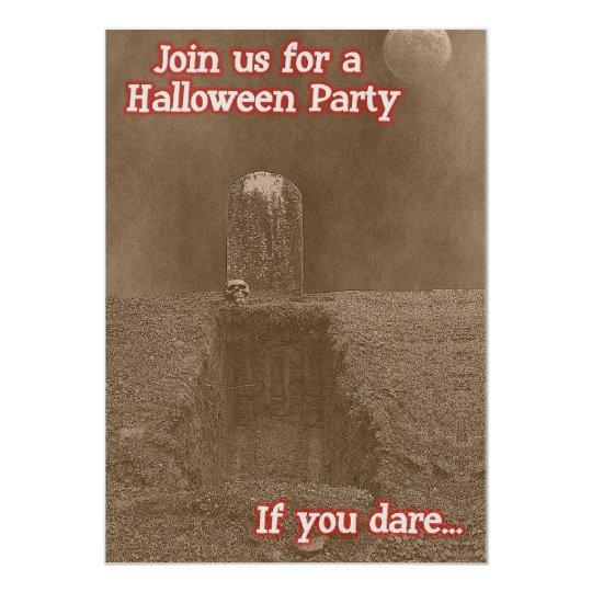 Sullduggery Halloween Party Invitations