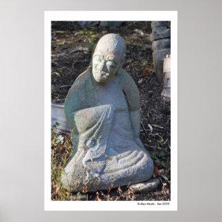 Sullen Monk Poster