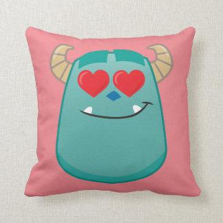 Sulley Emoji Throw Pillow