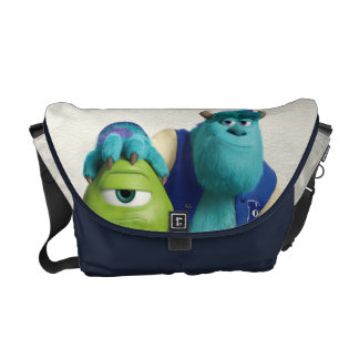 Sulley Holding Mike Messenger Bag