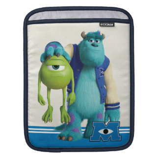 Sulley Holding Mike Sleeve For iPads