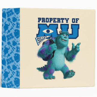 Sulley Property of MU 3 Ring Binder