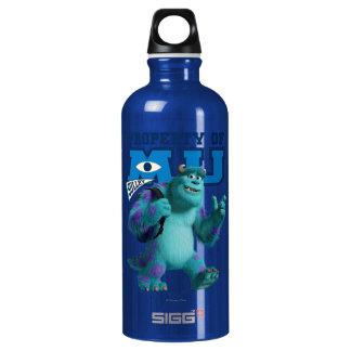 Sulley Property of MU Aluminum Water Bottle