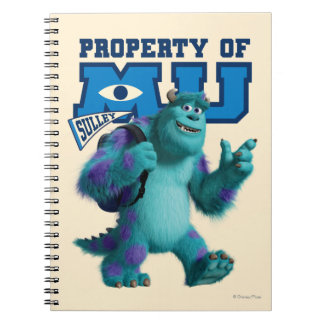 Sulley Property of MU Notebook