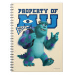 Sulley Property of MU Spiral Note Book