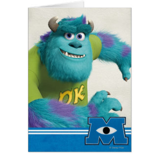 Sulley Running Greeting Cards