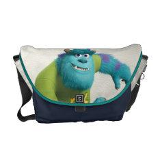 Sulley Running Messenger Bag at Zazzle