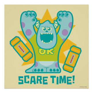 Sulley Scare Time Poster