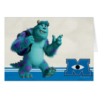 Sulley with Backpack Card