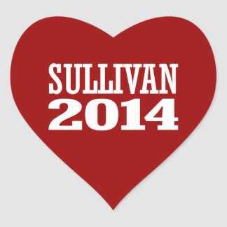 SULLIVAN 2014 STICKERS