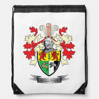 Sullivan-Coat-of-Arms Drawstring Backpack