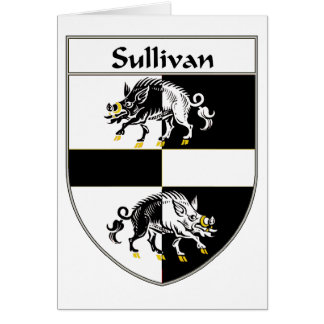 Sullivan Coat of Arms/Family Crest Card