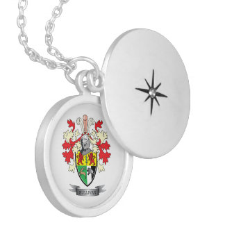 Sullivan Coat of Arms Locket Necklace