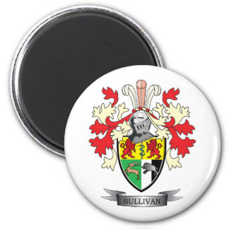 Sullivan-Coat-of-Arms Magnet