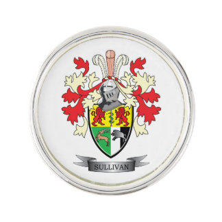 Sullivan-Coat-of-Arms Pin