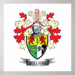 Sullivan-Coat-of-Arms Poster
