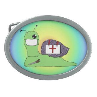 Sullivan el doctor del árbol hebilla de cinturon oval