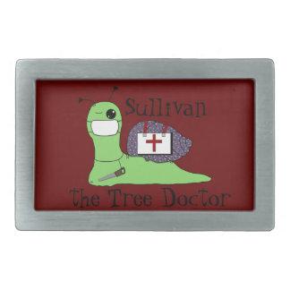 Sullivan el doctor del árbol hebillas cinturon rectangulares