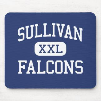 Sullivan Falcons Middle Rock Hill Mouse Pads