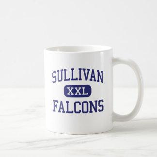 Sullivan Falcons Middle Rock Hill Classic White Coffee Mug