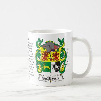 Sullivan Family Coat of Arms Mug