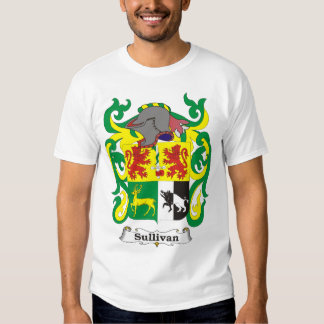 Sullivan Family Coat of Arms T-shirt