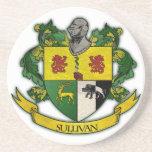 Sullivan family crest coaster