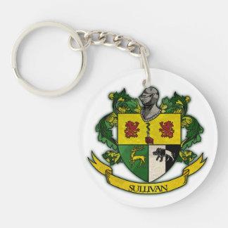 Sullivan family crest keychain