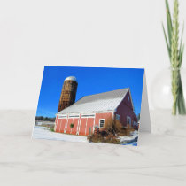 Sullivan Farm Nashua NH Holiday Card