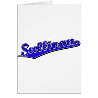 Sullivan in Blue Greeting Cards