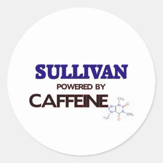 Sullivan powered by caffeine stickers