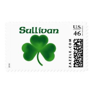 Sullivan Shamrock Postage Stamps