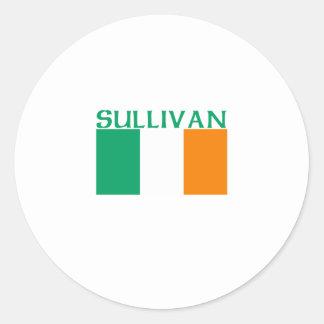 Sullivan Round Stickers