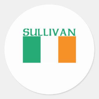 Sullivan Round Sticker