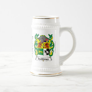 Sullivan, the Origin, the Meaning and the Crest on 18 Oz Beer Stein