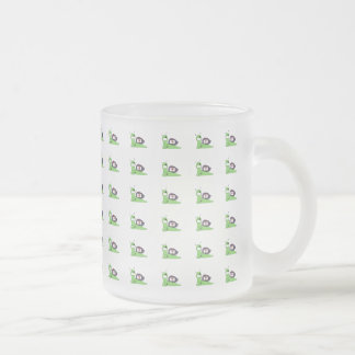 Sullivan the Tree Doctor Frosted Glass Coffee Mug