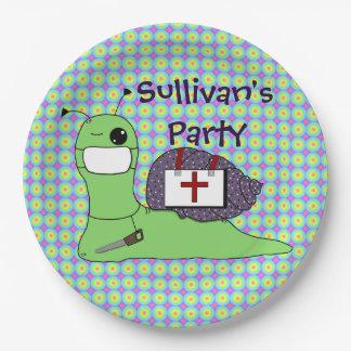 Sullivan the Tree Doctor Paper Plate