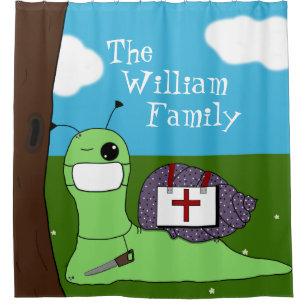 Sullivan The Tree Doctor Shower Curtain
