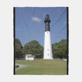 Sullivan's Island Lighthouse Fleece Blanket