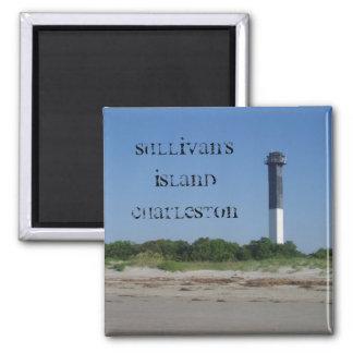 Sullivan's Island Magnet, Charleston SC 2 Inch Square Magnet