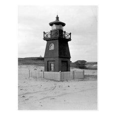Sullivan's Island Range Lighthouse Postcard at Zazzle