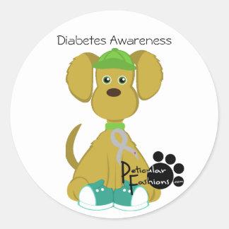 Sully al pegatina de la diabetes