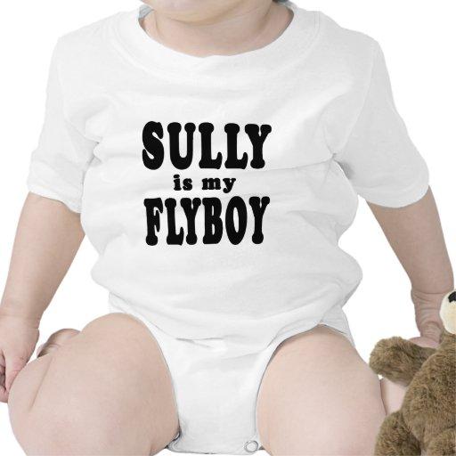 Sully es mi Flyboy Traje De Bebé