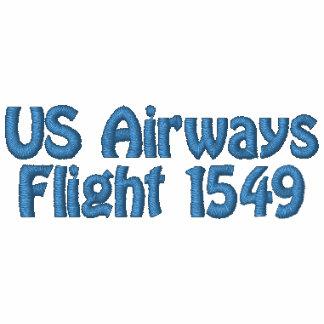 Sully es mi Flyboy, vuelo 1549 de US Airways Sudadera Bordada Con Capucha