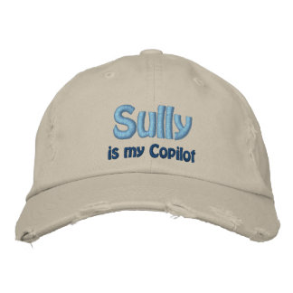 Sully is my Copilo, US Airways, Flight 1549 Embroidered Hat