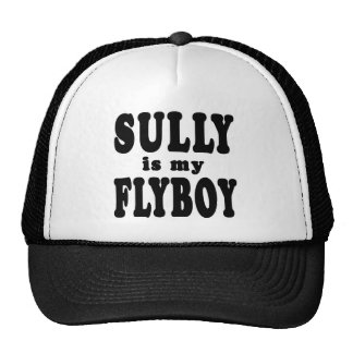 Sully is My Flyboy Mesh Hats