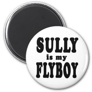Sully is My Flyboy Magnet