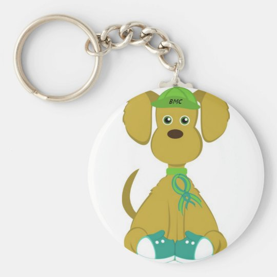 Sully the Diabetes Dog Key Chain