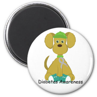Sully the Diabetes Dog Magnet