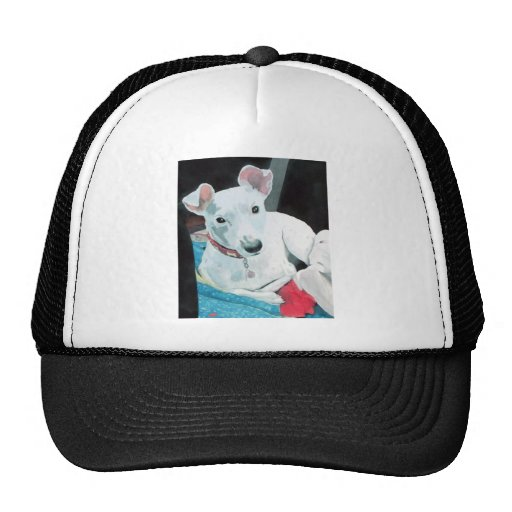 Sully the Jack Russell Terrier Cap Trucker Hats